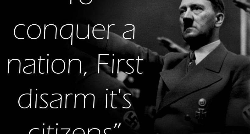 Video: Hitler and Gun Control Proponents - What's the Connection?